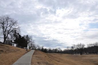 Brookside Park, Winter