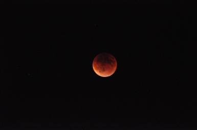 Blood Moon, taken on September 27th, 2015.