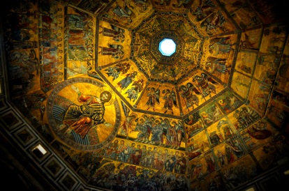 Baptistry, Florence 2016.
