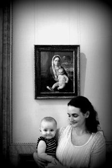 Madonnas with Children. Rome 2016.